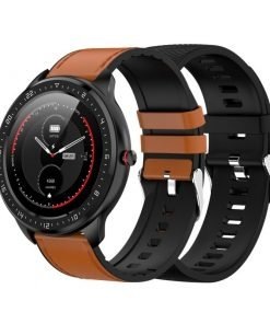 smartwatch-full-touch-2-correas-piel-marron-silicona-negra